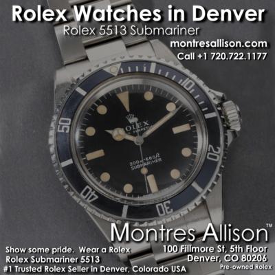 Montres Allison Rolex Denver